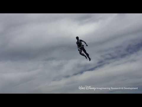 Disney crea un increíble robot humanoide que hace de doble en escenas peligrosas