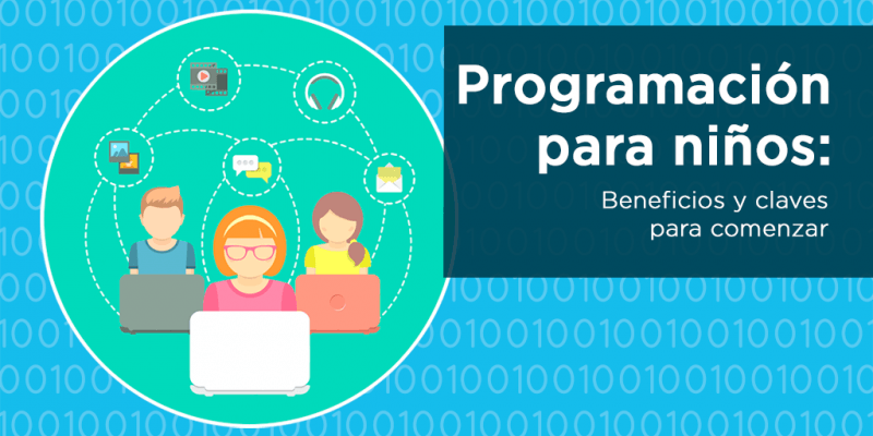 Programación para niños: beneficios y herramientas para comenzar