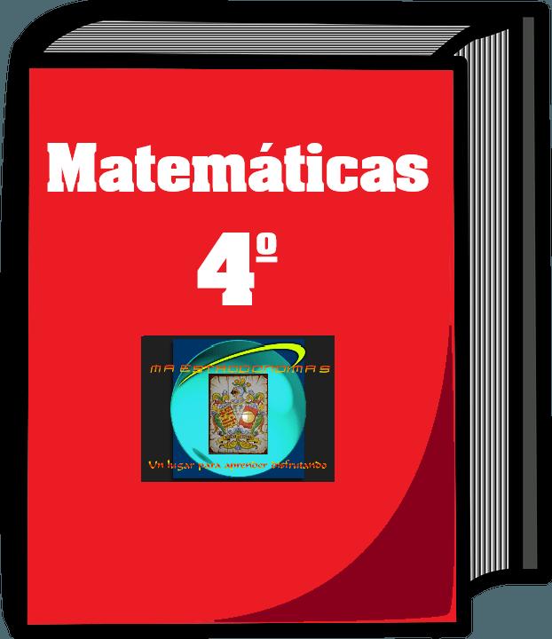 Curso completo Matemáticas 4º Primaria de Aulafácil